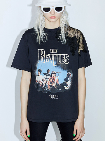 Beatles Lace T-shirt