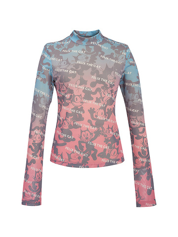 Printed Color Gradation Inner Top